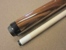 25oz Hammer Breaking Pool Cue Zebrawood w/ Samsara Tip Installed Great Break Cue