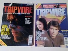 TRIPWIRE MAGAZINE x 2 ISSUES LOT