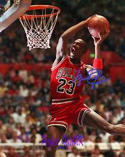 Michael Jordan SIGNED AUTOGRAPHED 10X8 PRE-PRINT PHOTO