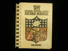 1973 Official National Football League (NFL) Record Manual