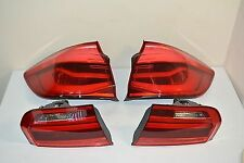 GENUINE BMW 3er F31 FACELIFT EU 2015- REAR LIGHTS TAIL LIGHTS COMPLETE SET OF 4