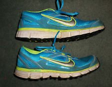 Women's Aqua Blue NIKE DUAL FUSION ST Athletic Running Shoes, Size 9.5, GUC