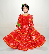 MUÑECA GITANA DE PORCELANA BEAUTIFUL GYPSY PORCELAIN DOLL FULLY DRESSED MUNECA R