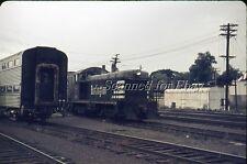 CB&Q Switcher #530 At Aurora Illnois Depot Sep 1971  AGFACHROME SLIDE-Railroad
