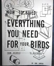 How to build everything you need for your birds FREE Media Mail Shipping