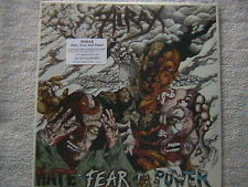 "HIRAX ""HATE, FEAR AND POWER"" LP FACTORY SEALED 1986 THRASH SPEED METAL"