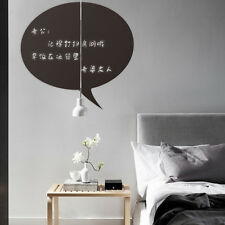 Leave a message Vinyl Blackboard Sticker Removable Wall Decal Chalkboard Decor