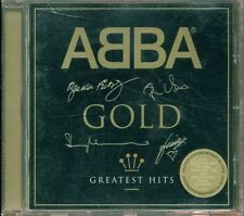 Abba - Gold Greatest Hits Gold Signed Jewel Case Cd Ottimo