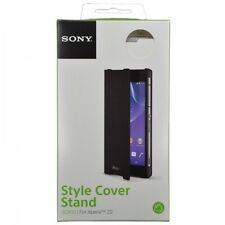 Sony Original WHITE SCR10 Style Cover Stand for Xperia Z2 Genuine Retail Pack