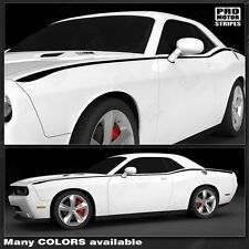 Dodge Challenger Javelin Side Accent Stripes for 2015+ fits 2011-2014 Pro Motor