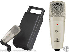 BEHRINGER CONDENSER MICROPHONE Suitable For Recording Vocals & Guitar NEW!