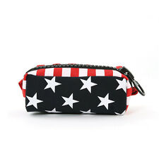 NEW RED+WHITE+BLUE,AMERICAN FLAG,POUCH,COIN PURSE,MAKEUP BAG