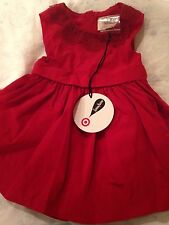 NWT Jason Wu Neiman Marcus for Target Girls 12M Red Dress Holiday Valentines