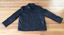 XXL Tommy Hilfiger Leather Bomber Jacket 2XL