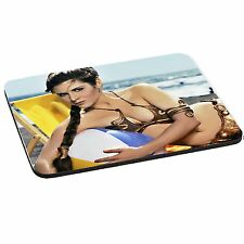 Star Wars Princess Leia, Rey, 5mm Thick Rectangle Mouse Mat/Pad