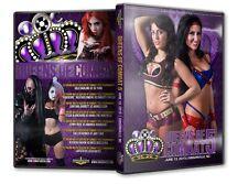 Queens of Combat 5 DVD, Lufisto Su Yung Divas Knockouts WWE ROH TNA WSU CZW