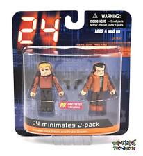 24 Minimates End of Day 1 Jack Bauer & Andre Drazen 2-Pack