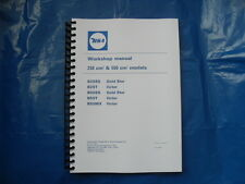 BSA B25SS,B25T,B50SS,B50T,B50MX  NEW WORKSHOP MANUAL FOR 1971 TO 1972 MODELS