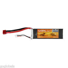 2S Lipo Battery for RC Helicopter RC Airplane Truck Car 7.4V 2200mAh Deans Plug