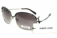Fabris Lane Homme Mens Designer Sunglasses FLA101763 Silver Grey New - RRP £49