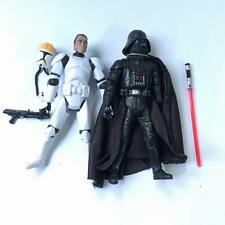 2pcs STAR WARS 501st Clone Pilot TROOPER & Darth Vader action Figures QA113