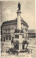 73 - cpa - CHAMBERY - La fontaine des Eléphants ( i 2573)