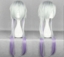 Sitri Cartwright Cosplay Wig HEADPIECE Makai Ouji Long White Perücke Multicolor