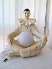 Grande lampe Pierrot en fibre de verre