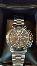 *** New *** Tag Heuer Formula 1 Chronograph Black and Steel