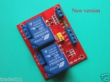 12V 30A 2 Way 2CH Relay Module H/L Level Triger for 110 220V Home Switch Control