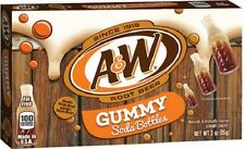 A&W Root Beer Gummy Soda Bottles 85g from Candy Junction