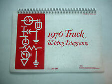 1976 Ford Truck F100 F150 F250 F350 Wiring Diagram Service Schematic Manual Shop
