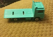 "Matchbox Volvo Box (no box) Truck ""Matchbox Auto Products"" Teal"