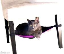 NEW Cat Crib Purple Cat Hammock Cat Bed Fits Under Chair & End Table Hanging Bed
