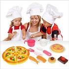 16PCs Pizza Party Fast Food Cooking Cutting Play Set Toy Kids Funny Pretend Toys