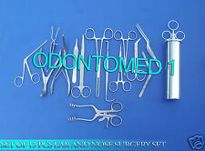 SET OF 15 PCS EAR AND NOSE SURGERY FORCEPS  VIENNA NASAL SPECULUM, EN-001