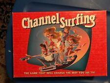 CHANNEL SURFING GAME USED HAS MANY CARDS AND DIRECTIONS. NOT SURE IF ANY PIECES