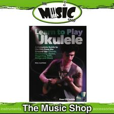 New Learn to Play Ukulele Book & CD