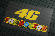 46 THE DOCTOR Sticker Decal Vinyl Moto GP Yamaha Valentino Rossi Motorcycle R1