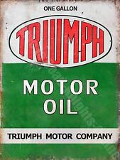 Vintage Garage, 50 Motor Oil, Motoracing Old Car Motorbike, Small Metal/Tin Sign
