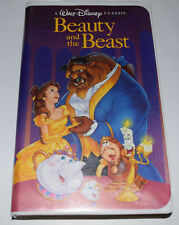 Beauty & The Beast Classics Black Diamond Disney VHS 06/21/92-A Christmas Lead
