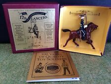 BRITAINS 5928 DUKE OF CAMBRIDGES OWN 17TH LANCER MOUNTED METAL TOY SOLDIER
