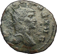 GALLIENUS son of Valerian I  Very rare  Ancient Roman Coin Antelope  i29005