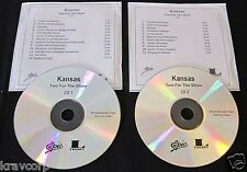 KANSAS 'TWO FOR THE SHOW REISSUE' 2008 ADVANCE 2-CD SET