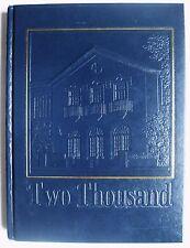 SCOTT VAN SLYKE ERINN WESTBROOK 2001 JOHN BURROUGHS School HS Yearbook St Louis