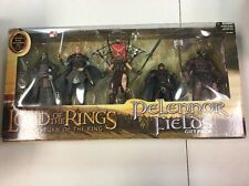 LORD OF THE RINGS ROTK PELENNOR FIELDS GIFT PACK 5 PACK ACTION FIGURES SEALED