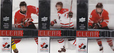 14-15 Team Canada Juniors Taylor Leier /75 Clear Cut Playing For A Nation 2014