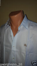 New Burberry Men Shirt Burberry London Men t-shirt White Sz.2XL