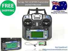 Turnigy TGYi6 AFHDS Transmitter & 6CH Receiver (Mode 2) RC Plane Heli Multi