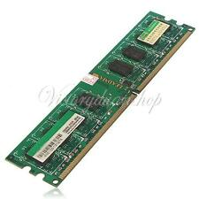 2GB DDR2-667 667Mhz PC2-5300 5300U 240-Pin Non-ECC Desktop PC DIMM Memory RAM